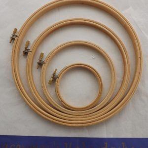 Wooden Hoop size 3 – 10 inch 7.62 – 25.4 cm width
