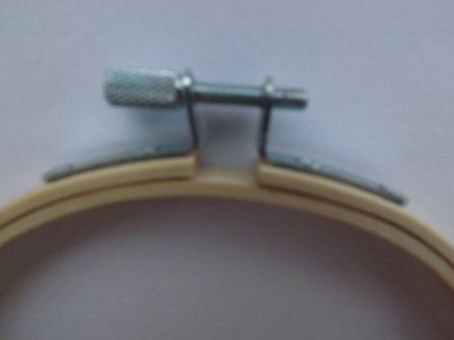 Bamboo wooden hoop screw