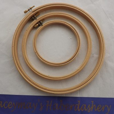 Lacyemays Haberdashery single hoop Bamboo