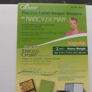 Tablet Keeper Shapers Nancy Zieman – Pre cut packs