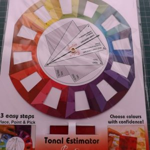 Colour Wheel with Tonal Estimator – Sew Easy