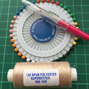 Seam Ripper, Thread and Pin wheel bundle