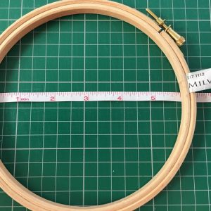 Milward Wooden Hoop size 5 inch 12 cm and 6 inch 15 cm