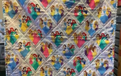 Easter & Charity day with The Project Linus quilts