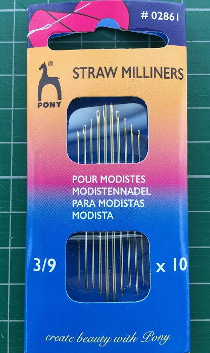 LaceyMays Haberdashery Milliners Needles 3/9
