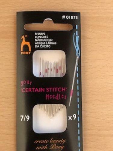 LaceyMays haberdashery Certain space stitch needles