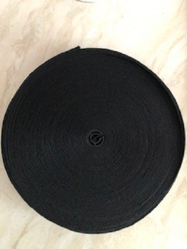 LaceyMays Haberdashery Elastic 1 Inch BLACK