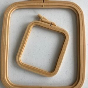NEW Nurge Square/rectangle Plastic Hoops