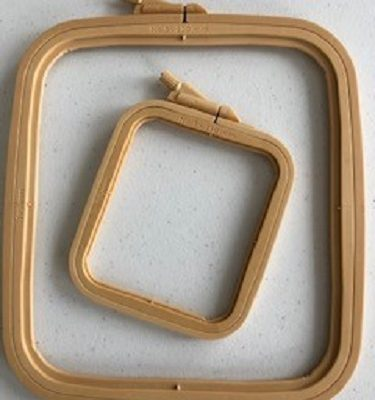 LaceyMays haberdashery Rectangle/square plastic hoop