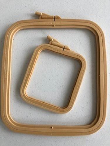 LaceyMays haberdashery Rectangle/square plastic hoop