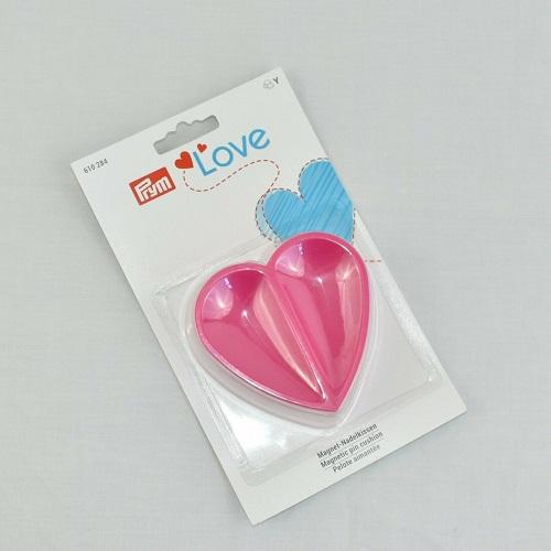 LaceyMays haberdashery Prym Love HEART pin cushion