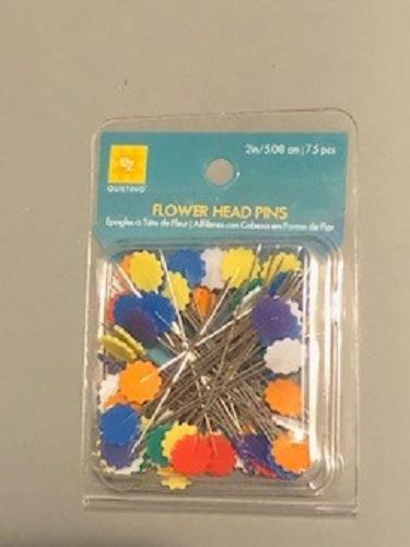 LaceyMays Haberdashery EZ Flower head pins 75 pieces