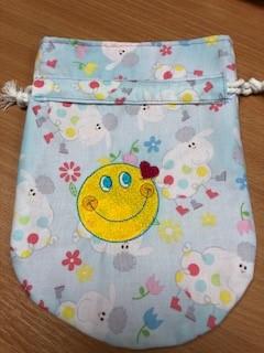 LaceyMays Haberdashery Handmade Dolly bag Snail